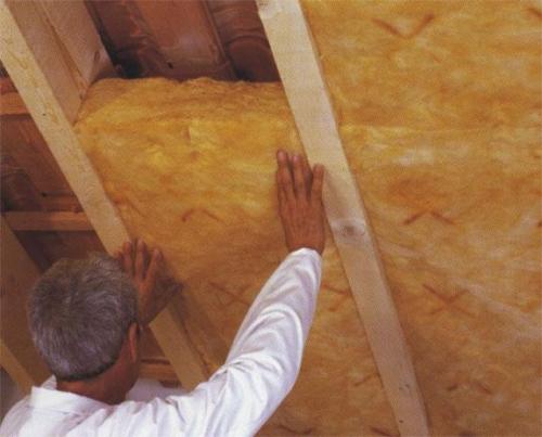 Утепление мансарды в бревенчатом доме