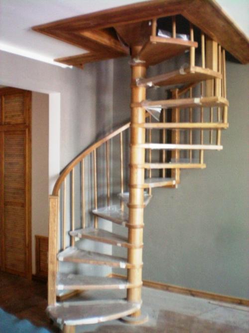 Винтовая лестница своими руками из металла чертежи фото 493