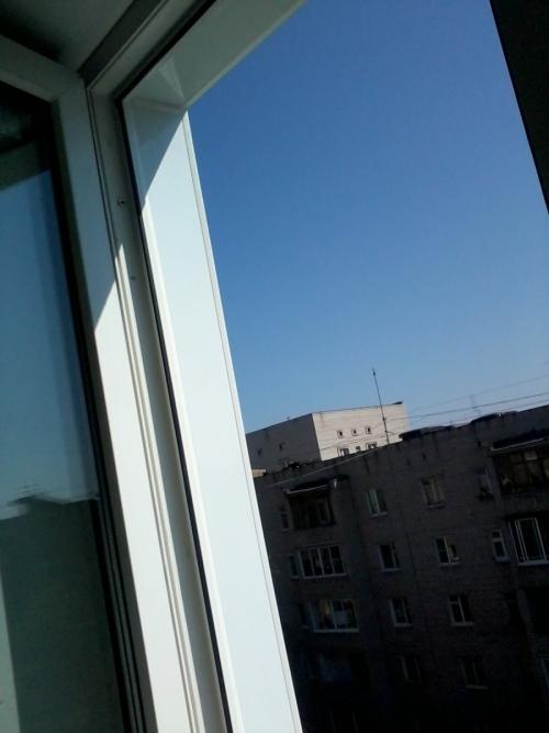 Внешние откосы на окнах