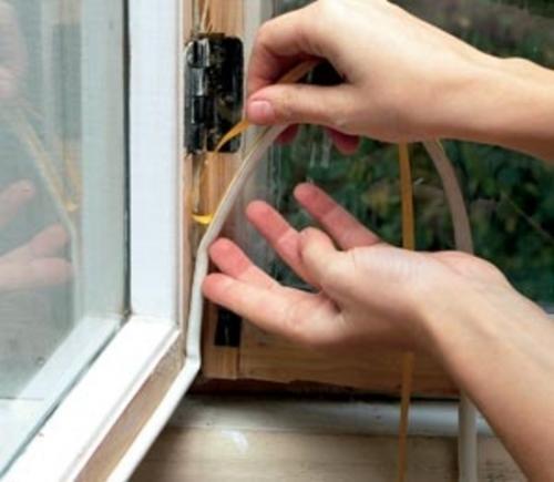 свойства ликвидировать продувание окон пвх уплотнителем термобелье