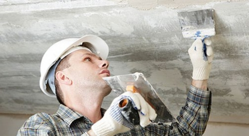 Как очистить потолок от побелки, Строительный портал