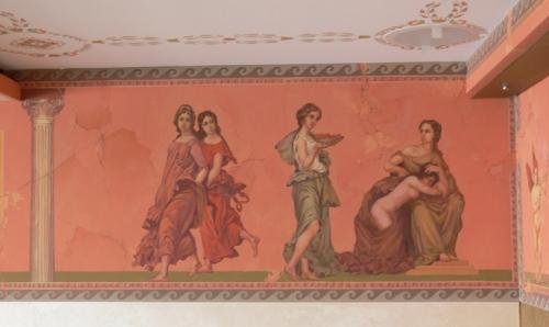 Роспись стен в интерьере: варианты оформления, фото-идеи, Строительный портал