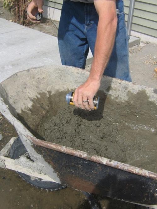 Как сделать цемент для садовой дорожки 806