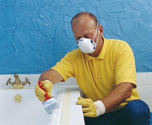 Как обновить старую ванну своими руками