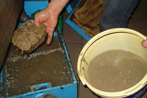 Жироуловитель в канализации фото