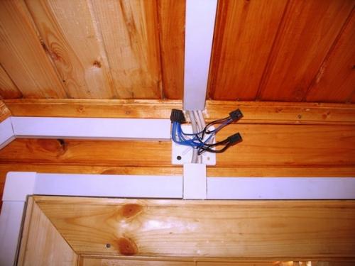 Электрика в деревянном доме своими руками