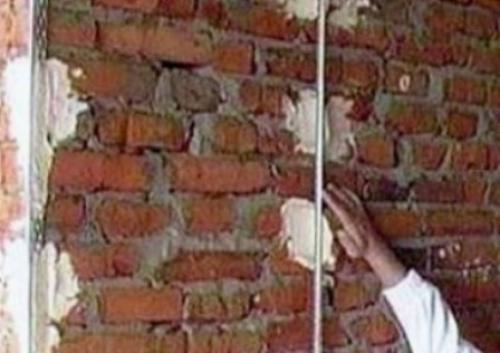 начинаю выравнивать ротбандом стены начинают обычно установки маяков такое маяки направляющие контроля выр Фото
