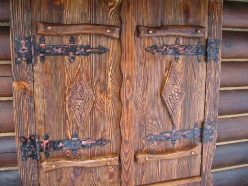 Дверь деревянная своими руками