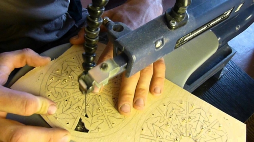 Настольный электролобзик своими руками, Строительный портал