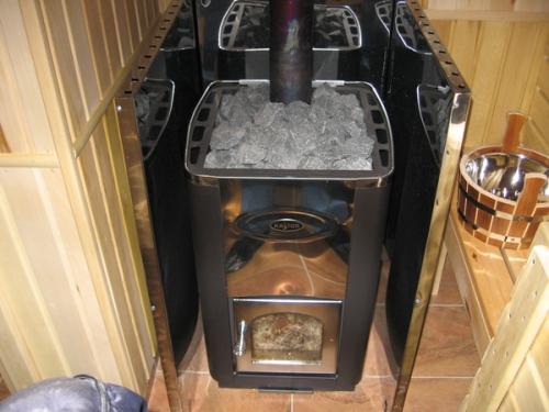 Изготовление печи для бани