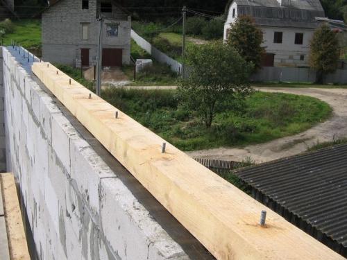 Как установить стропила для двускатной крыши
