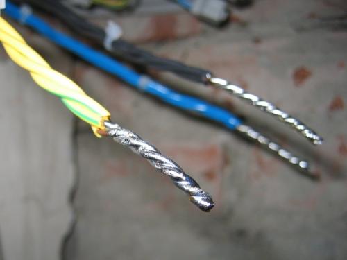 Соединения проводов