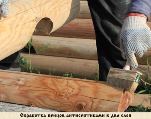 Антисептики для дерева глубокого проникновения своими руками