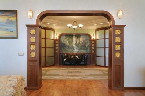 Оформление дверного проема без двери фото