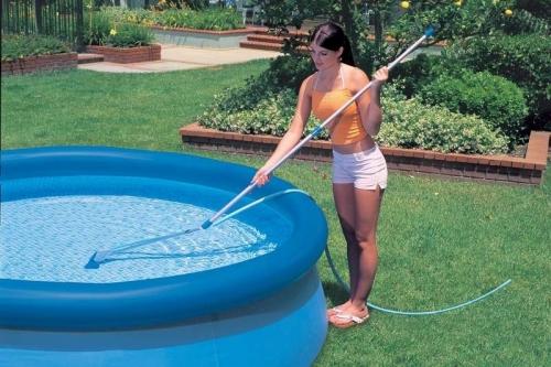 Очистка бассейна своими руками