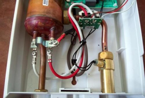 Проточный водонагреватель своими руками