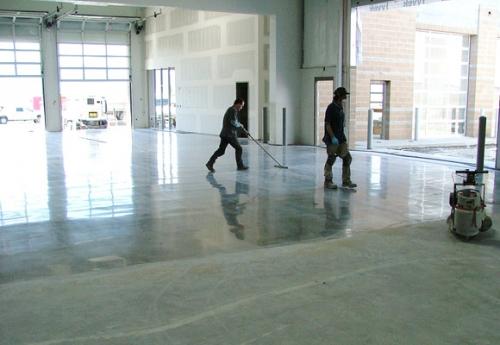 Чем шлифовать бетон