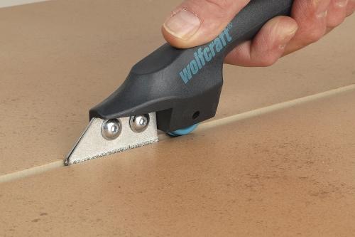 Нож для зачистки швов плитки