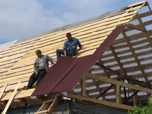 Крыша своими руками обрешетка