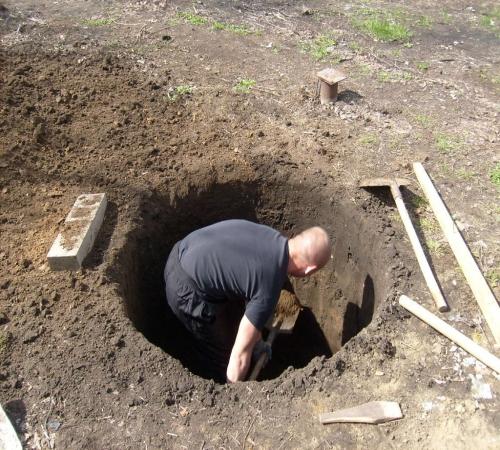 Картинки по запросу Как выкопать колодец своими руками