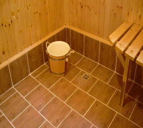 Картинки по запросу в бане пол со сливом