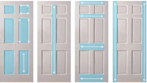 Чем покрасить межкомнатные двери