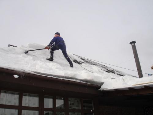Снігова лопата своїми руками