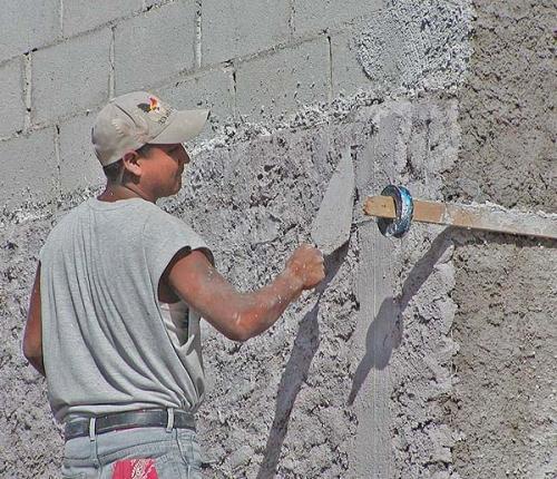 штукатурка на стенку газоблока наступлением
