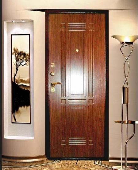 Что такое шпонированная дверь