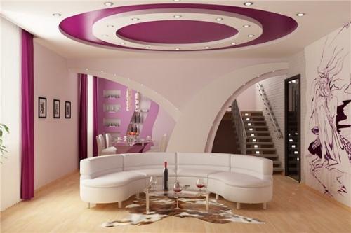 vidi potolkov 0 500x333 - Декоративне оформлення стель