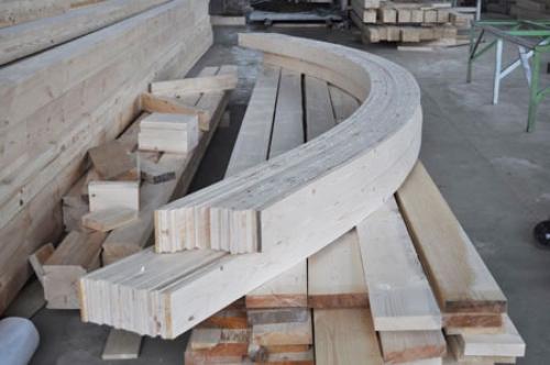 Как из дерева сделать арку из 40