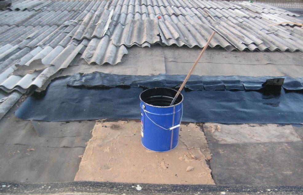 Протекают швы на крыше