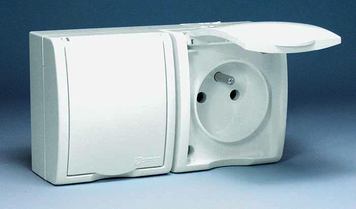 Розетки штепсельные с заземляющим контактом обычно используются для  подключения электрических плит, кондиционеров. 6148a92969f