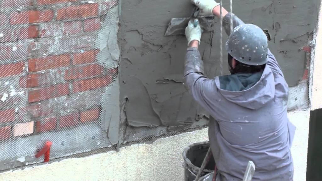 Фасадная штукатурка короед своими руками видео