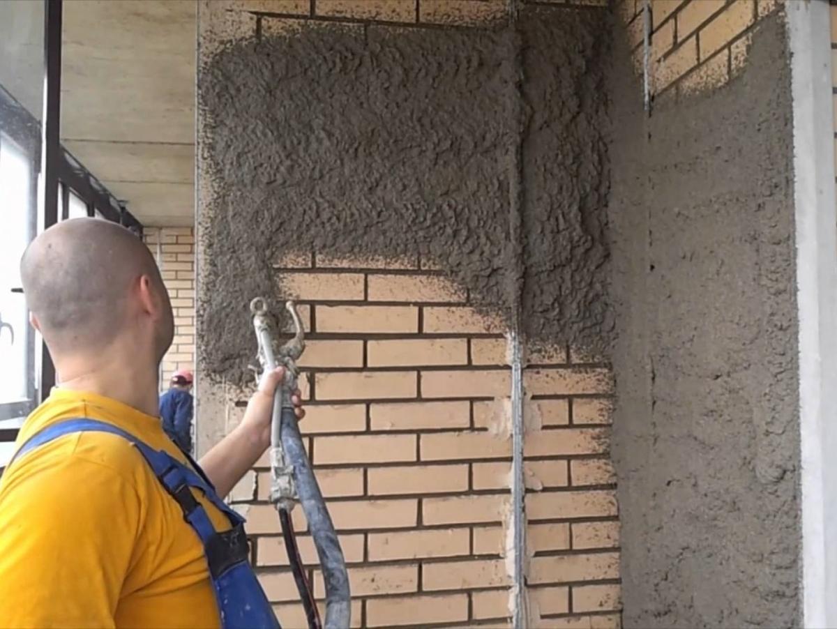 Своими руками машинка для штукатурки стен