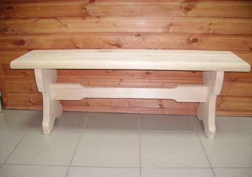 Скамейки для бани своими