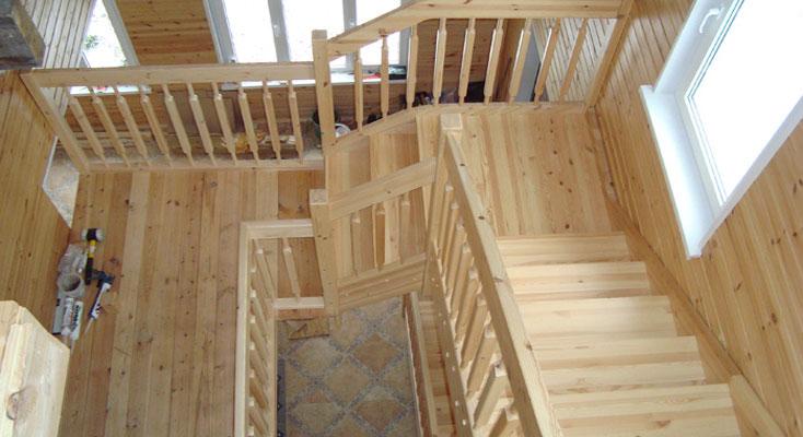 Маршевая лестница своими руками Строительный портал