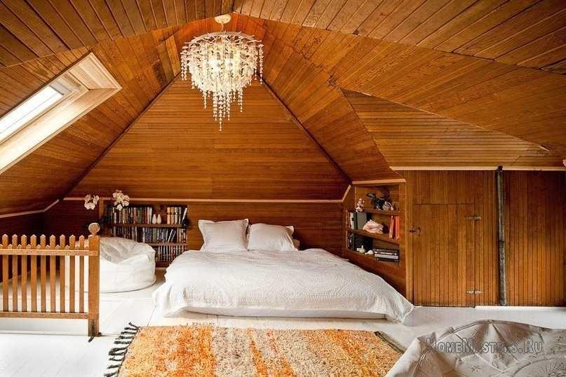 Фото дизайн комнаты на чердаке