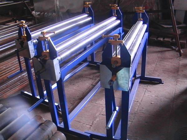 Как сделать вальцы для листового металла своими руками видео