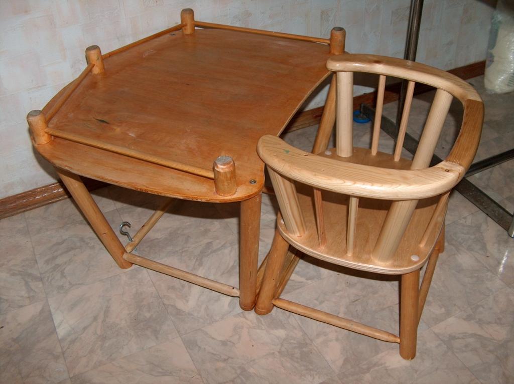 Детский стул для кормления своими руками