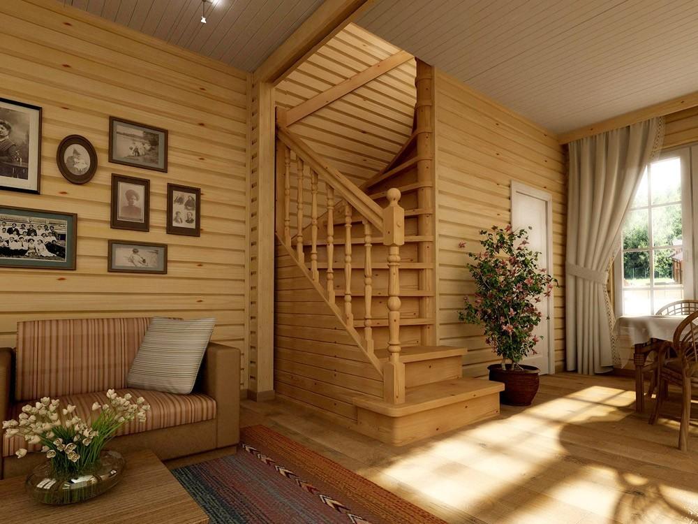 Как сделать деревянный дом современным 580