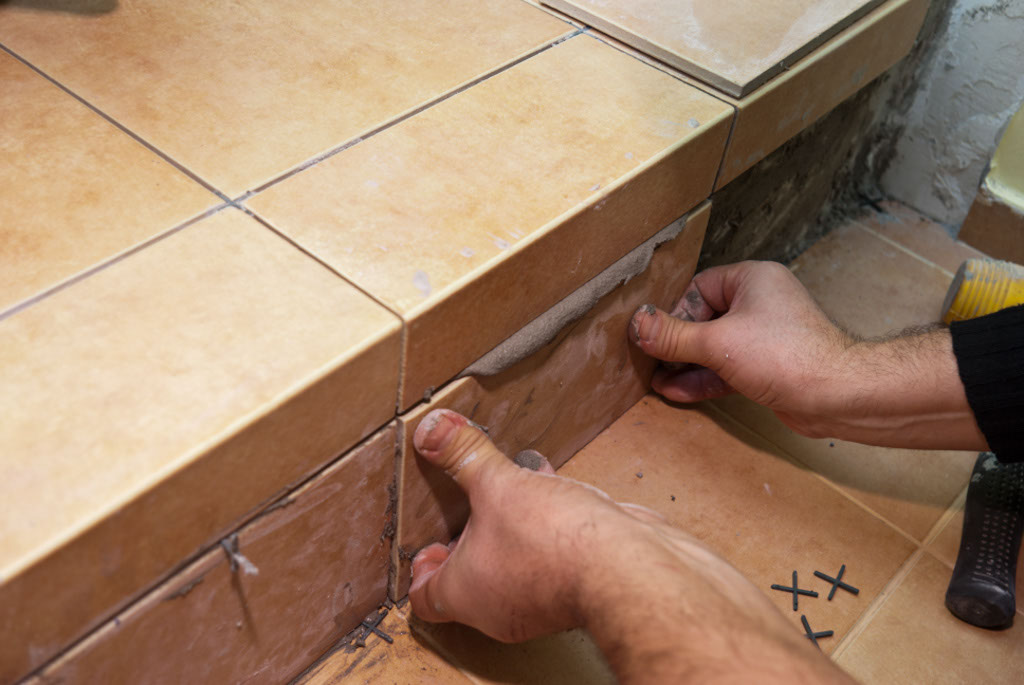 Laying tiles at the video level