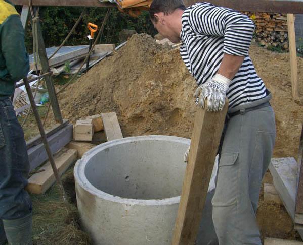 Как сделать кольца для канализации своими руками