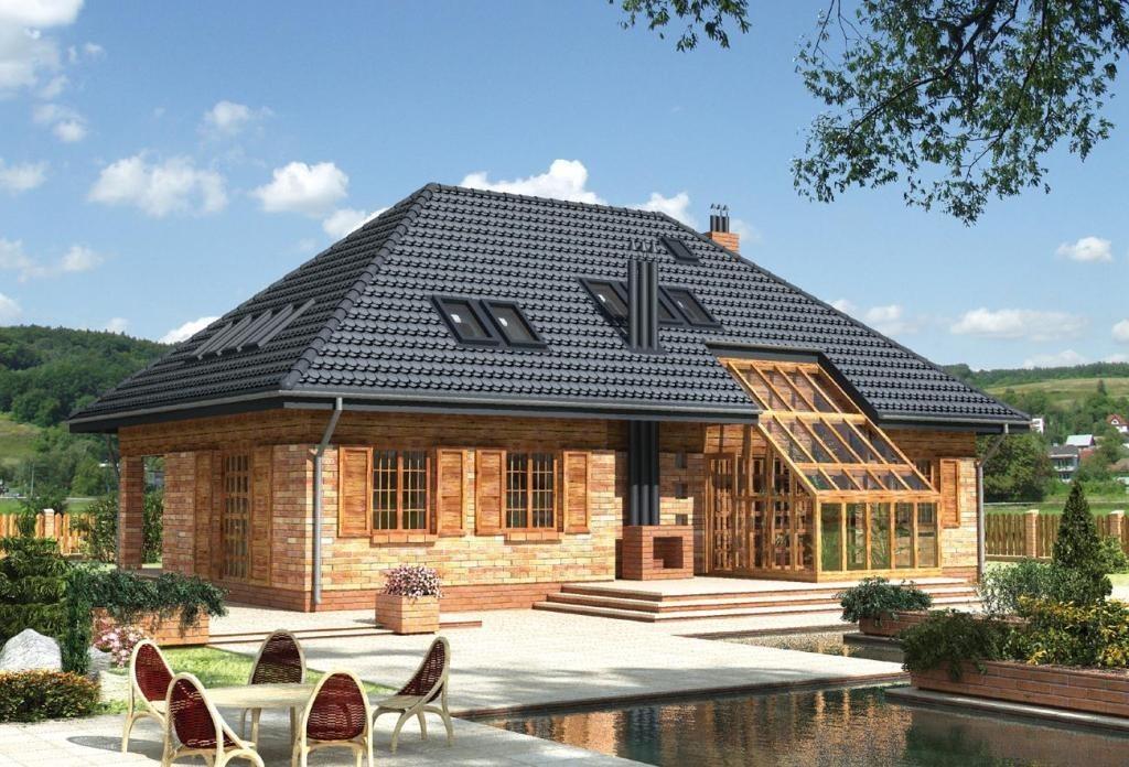 крыша вальма фото