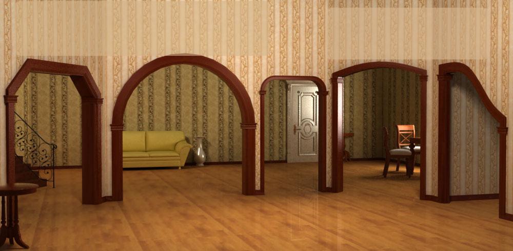 Как из дерева сделать арку из 77