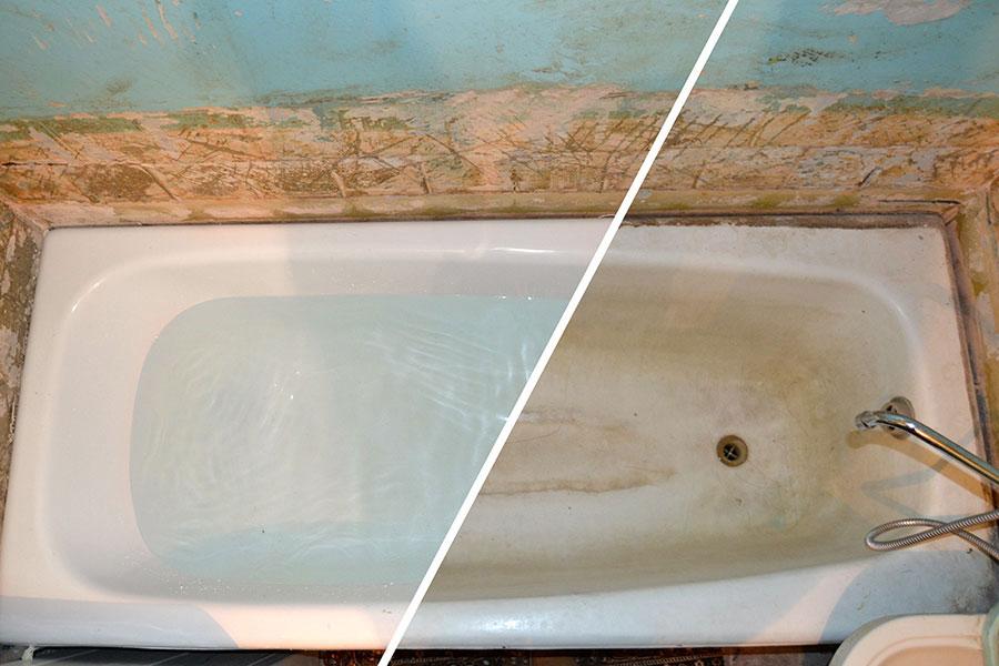 Ремонт пластиковых ванн своими руками 165