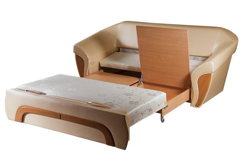 Выкатной угловой диван обычно