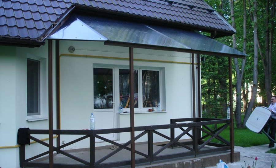 Крыльцо из поликарбоната к деревянному дому своими руками проекты фото 55