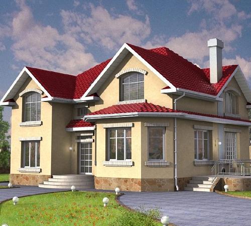 как покрасить дом снаружи дизайн фото 5