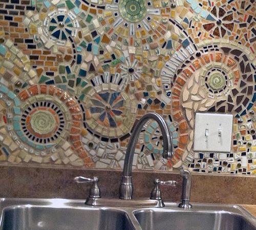 Мозаика из керамической плитки своими руками